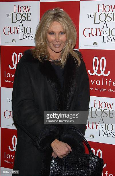 Producer Christine ForsythPeters during Lavalife's New York Screening of Paramount Pictures' How to Lose a Guy in 10 Days Inside Arrivals at Ziegfeld...