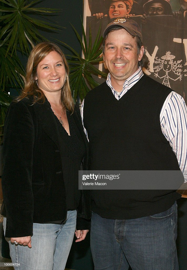 Producer Christine O'Malley (L) and director Patrick Creadon (R) attend AMPAS' 28th Annual 'Contemporary Documentaries' Series Continues on May 19, 2010 in Hollywood, California.