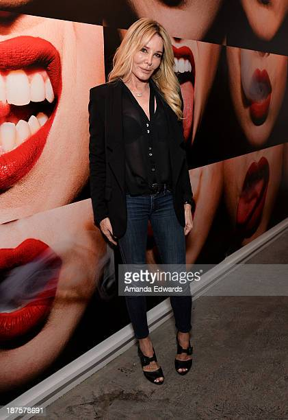 Producer Christine Peters attends the launch party for photographer Tyler Shields's new book The Dirty Side Of Glamour at Guy Hepner Gallery on...
