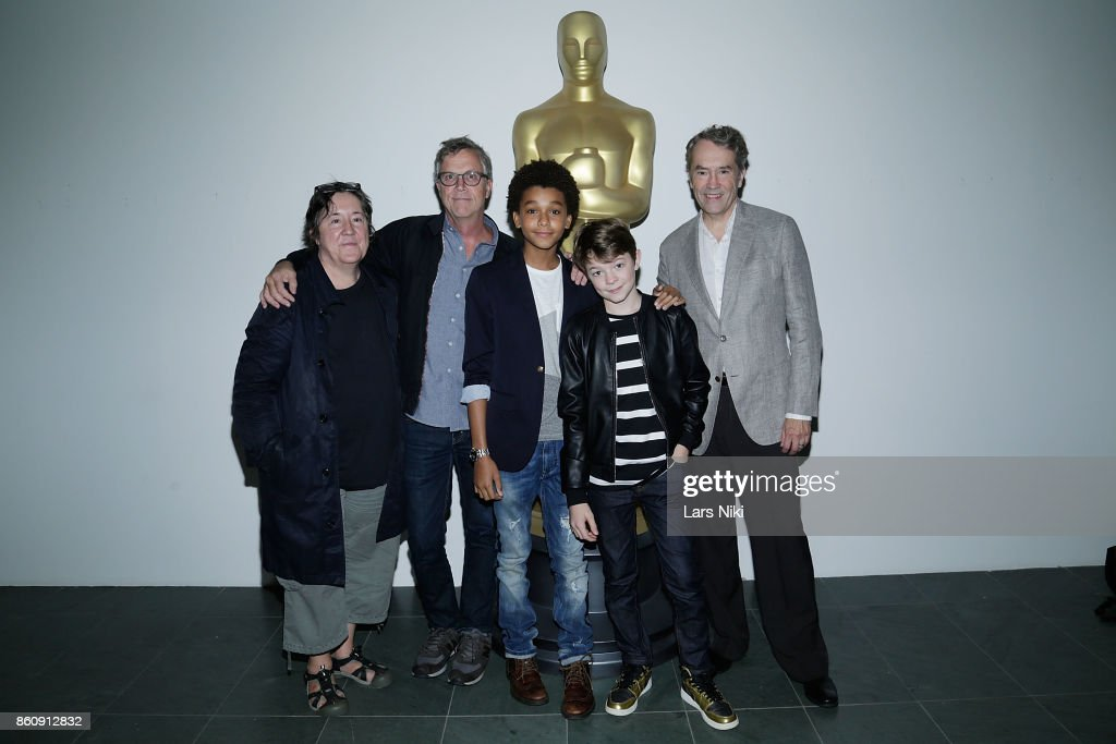 Producer Christine Vachon, director Todd Haynes, actor Jaden Michael, actor Oakes Fegley and composer Carter Burwell attend The Academy of Motion Picture Arts & Sciences Official Academy Screening of Wonderstruck at MOMA on October 11, 2017 in New York City.