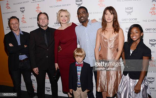 Producer Christophe Mazodier writer Alex Nahon actress Julie Delpy actor Owen Shipman actor Chris Rock actress Alexia Landeau and actress Talen Riley...