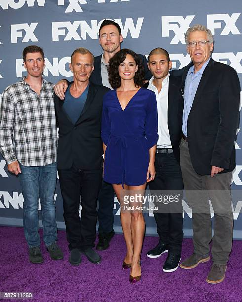 Producer Chuck Hogan Actors Richard Sammel Kevin Durand Natalie Brown and Miguel Gomez and Producer Carlton Cuse attend FX Networks TCA 2016 Summer...