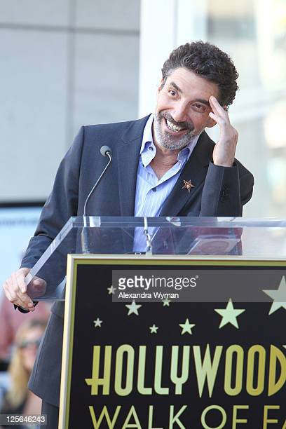 Producer Chuck Lorre at Jon Cryer's star ceremony held on September 19 2011 in Hollywood California