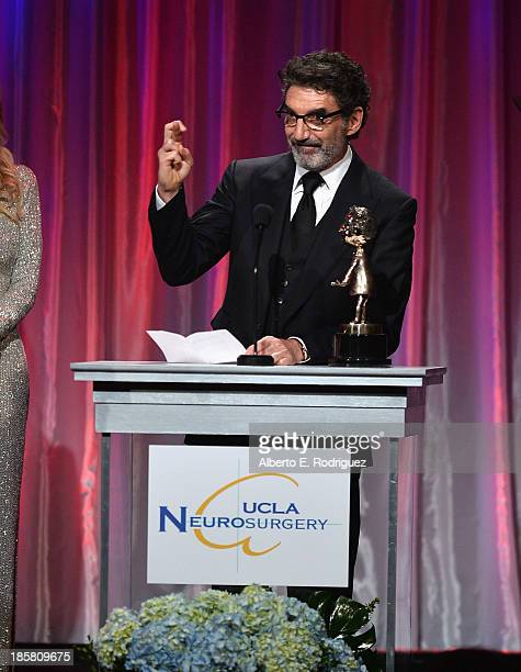 Producer Chuck Lorre attend the 2013 UCLA Neurosurgery Visionary Ball at the Beverly Wilshire Four Seasons Hotel on October 24 2013 in Beverly Hills...