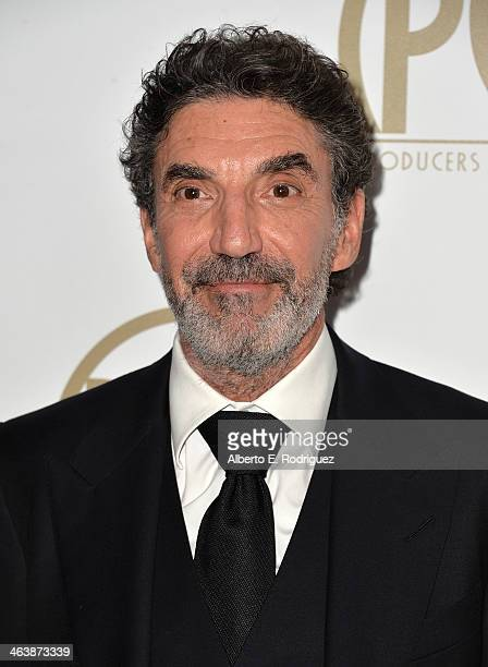 Producer Chuck Lorre attends the 25th annual Producers Guild of America Awards at The Beverly Hilton Hotel on January 19 2014 in Beverly Hills...