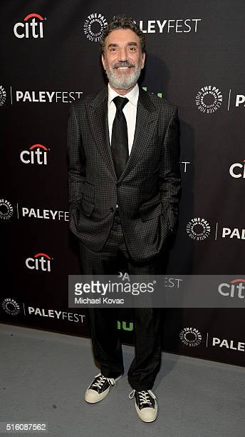 Producer Chuck Lorre attends The Paley Center For Media's PaleyFest 2016 Honoring The Big Bang Theory at The Dolby Theatre on March 16 2016 in Los...