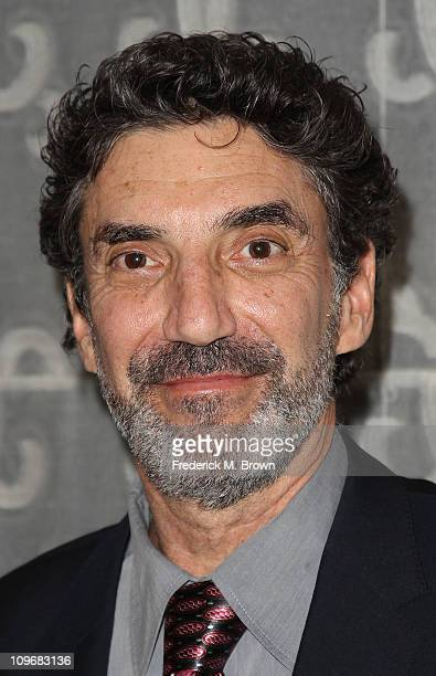 Producer Chuck Lorre attends the Venice Family Clinic Silver Circle 2011 Gala at the Beverly Wilshire Hotel on February 28 2011 in Beverly Hills...