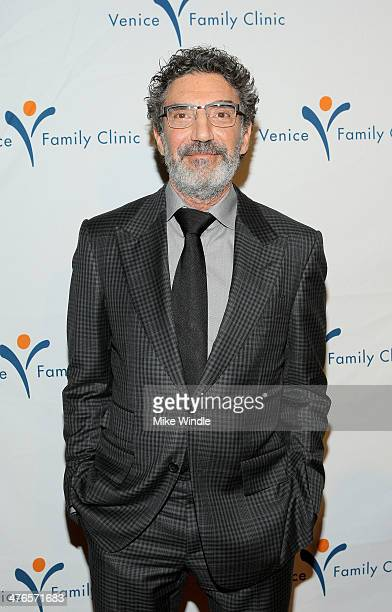 Producer Chuck Lorre attends the Venice Family Clinic's 32nd Annual Silver Circle Gala held at The Beverly Hilton Hotel on March 3 2014 in Beverly...