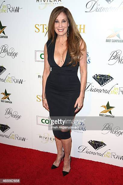 Producer Cindy Cowan attends the 1st Annual Startuch Charity Gala at Riviera 31 on February 26 2015 in Beverly Hills California