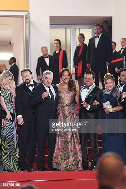A Producer Claudine Jakubowicz director Jonathan Jakubowicz actor Robert de Niro Grace Hightower former professional boxer Roberto Duran and...