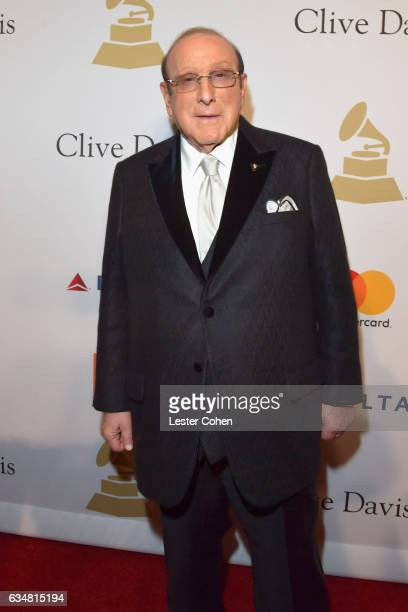 Producer Clive Davis attends PreGRAMMY Gala and Salute to Industry Icons Honoring Debra Lee at The Beverly Hilton on February 11 2017 in Los Angeles...
