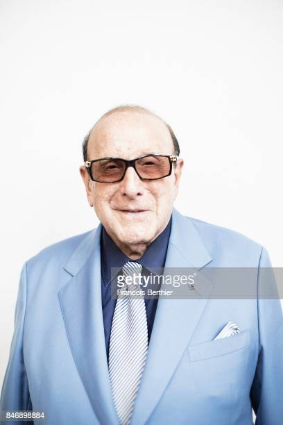 Producer Clive Davis is photographed on September 3 2017 in Deauville France