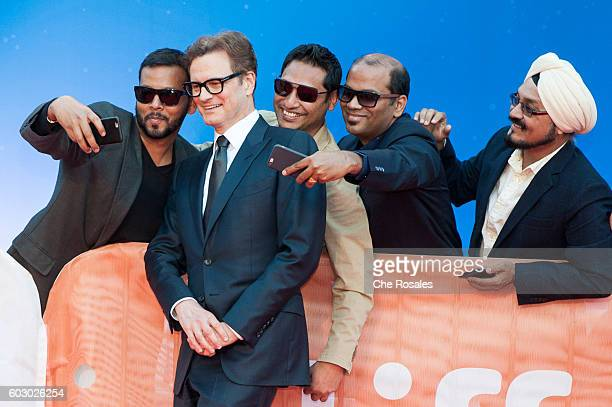 Producer Colin Firth attends the premiere of 'Loving' during the 2016 Toronto International Film Festival at Roy Thomson Hall on September 11 2016 in...