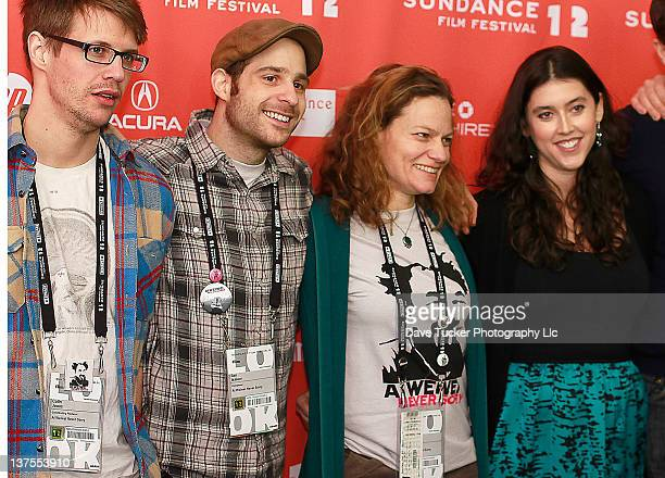 Producer Colin Jones composer Ilan Isakov film editor Jennifer Fineran and director Alison Klayman attend the 'Ai Weiwei' premiere during the 2012...