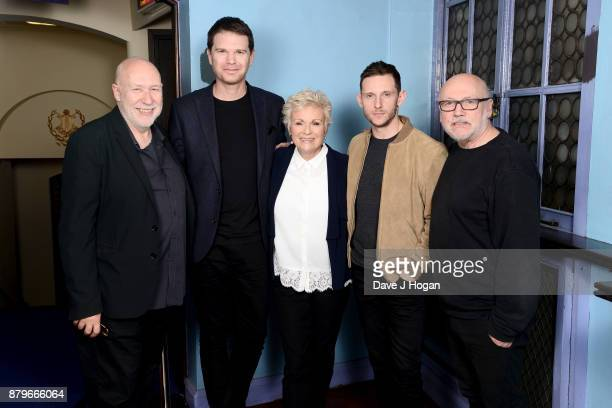 Producer Colin Vaines film critic James King Julie Walters Jamie Bell and author Peter Turner attend the 'Film Stars Don't Die In Liverpool'...