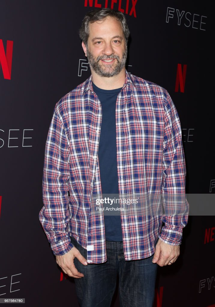 Producer / Comedian Judd Apatow attends the #NETFLIXFYSEE 'Neflix Is A Joke' at Netflix FYSEE At Raleigh Studios on May 11, 2018 in Los Angeles, California.