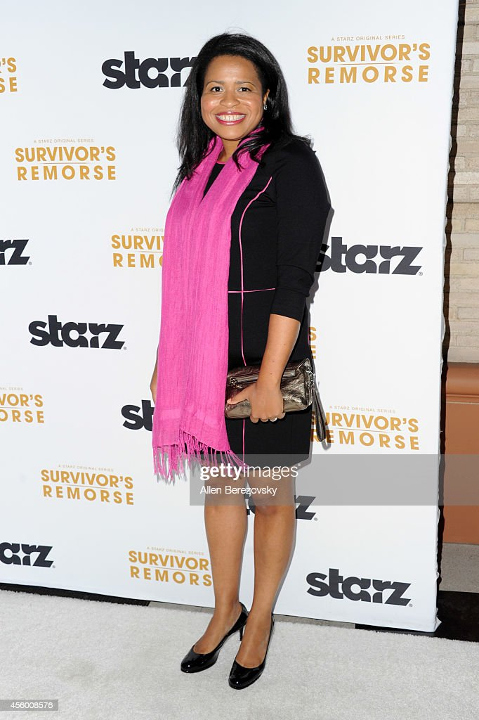 Producer Courtney Kemp Agboh attends the Los Angeles premiere of STARZ new series 'Survivor's Remorse' at Wallis Annenberg Center for the Performing Arts on September 23, 2014 in Beverly Hills, California.