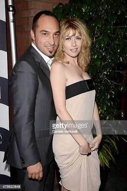 Producer Cristiano De Masi and actress Loredana Cannata attends the 9th Annual LA Italia Film Fashion And Art's Festival Closing Night Awards...