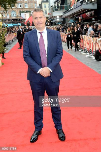 Producer Damian Jones attends the 'Goodbye Christopher Robin' World Premiere held at Odeon Leicester Square on September 20 2017 in London England