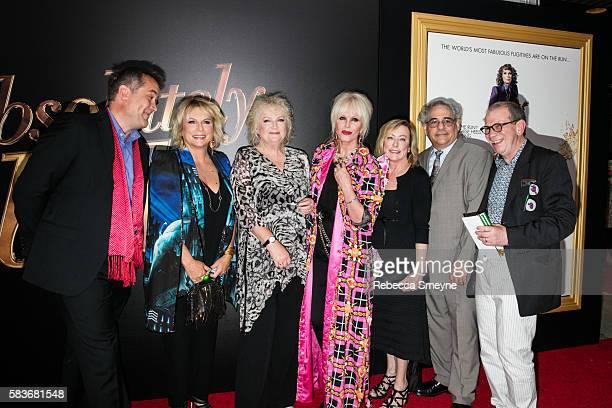 Producer Damian Jones Jennifer Saunders Director Mandie Fletcher Joanna Lumley Fox Searchlight Presidents Nancy Utley and Steve Gilula and Producer...