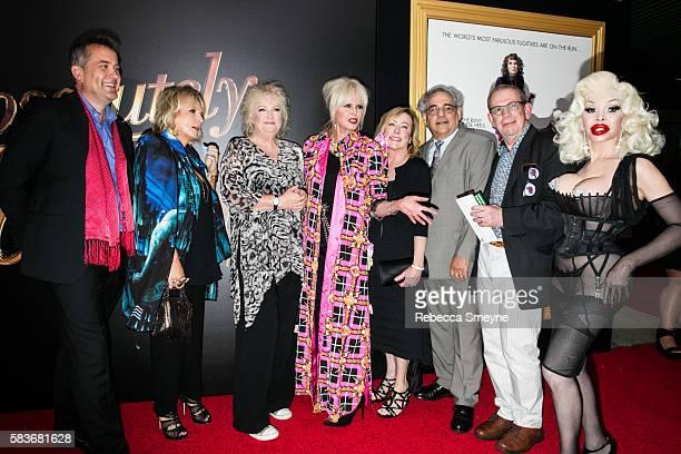 Producer Damian Jones Jennifer Saunders Director Mandie Fletcher Joanna Lumley Fox Searchlight Presidents Nancy Utley and Steve Gilula Producer Jon...