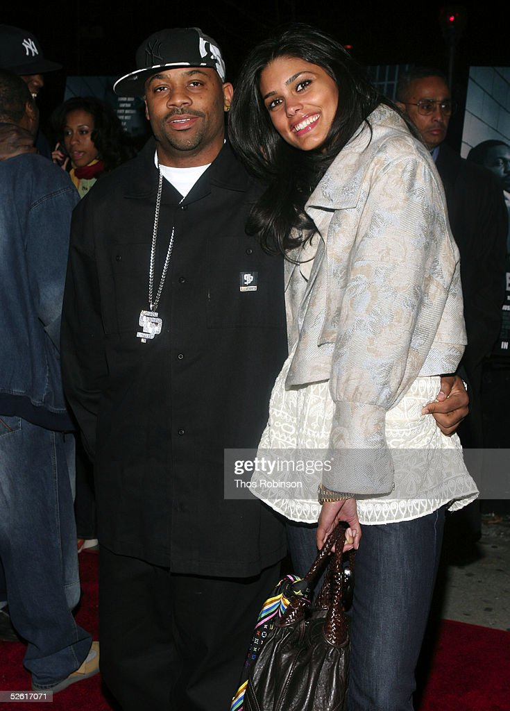 Producer Damon Dash and his wife, model Rachel Roy attend