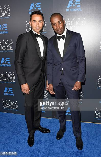 Producer Damon D'Oliveira and writer/director Clement Virgo attend the 5th Annual Critics' Choice Television Awards at The Beverly Hilton Hotel on...