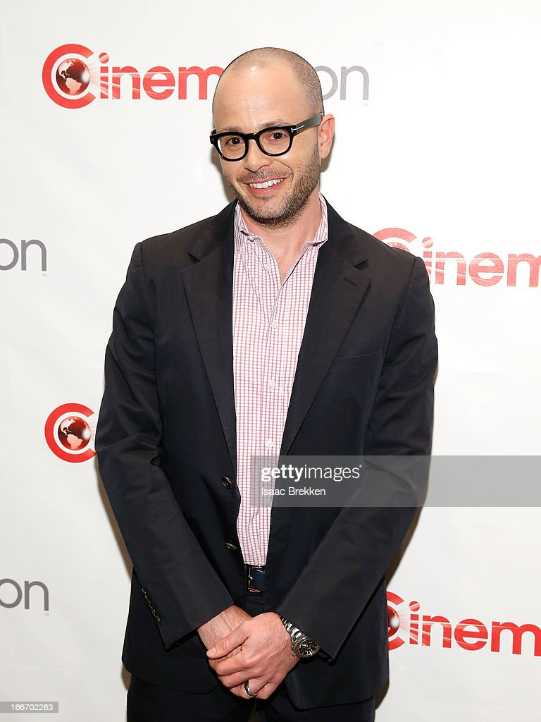 Producer Damon Lindelof arrives at a Paramount Pictures presentation to promote his upcoming film, 'Star Trek Into Darkness' during CinemaCon at Caesars Palace on April 15, 2013 in Las Vegas, Nevada.