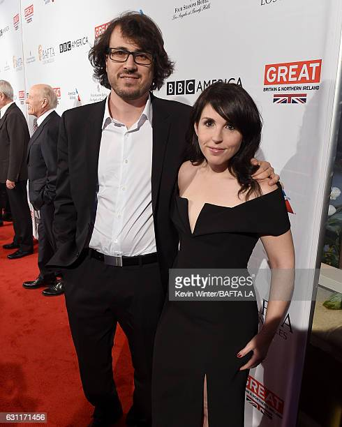 Producer Dan Cohen and guest attend The BAFTA Tea Party at Four Seasons Hotel Los Angeles at Beverly Hills on January 7 2017 in Los Angeles California