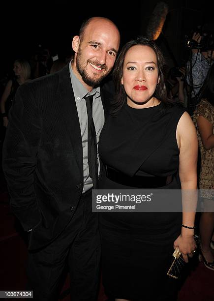 Producer Daniel Dubiecki and Director Karyn Kusama attends the Jennifer's Body premiere at the Ryerson Theatre during the 2009 Toronto International...