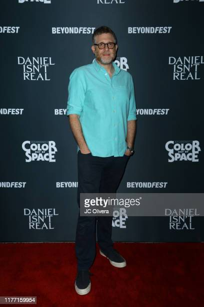 Producer Daniel Noah attends the 2019 Beyond Fest opening night premieres of 'Color Out Of Space' and 'Daniel Isn't Real' at the Egyptian Theatre on...