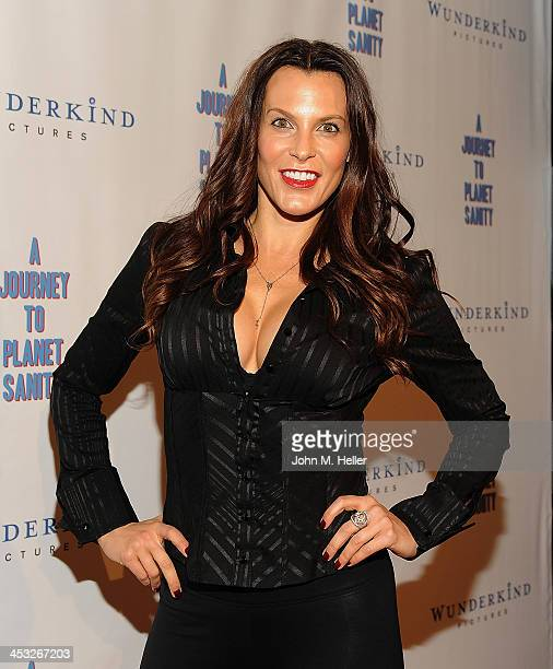 Producer Danielle Crane attends the Los Angeles Premiere of A Journey To Planet Sanity at the Laemmle Monica 4Plex on December 2 2013 in Santa Monica...