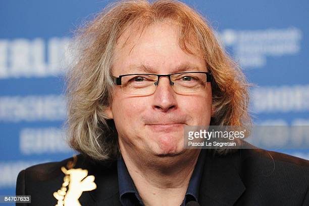 Producer Danny Krausz attends the press conference for 'The Bone Man' as part of the 59th Berlin Film Festival at the Grand Hyatt Hotel on February 9...
