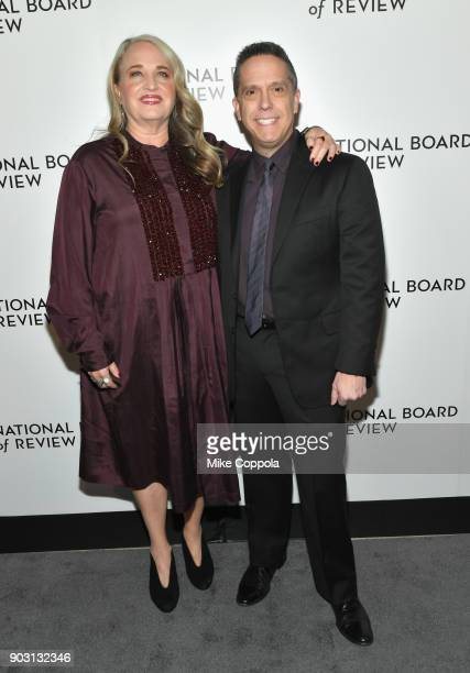 Producer Darla K Anderson and director Lee Unkrich attend the 2018 The National Board Of Review Annual Awards Gala at Cipriani 42nd Street on January...