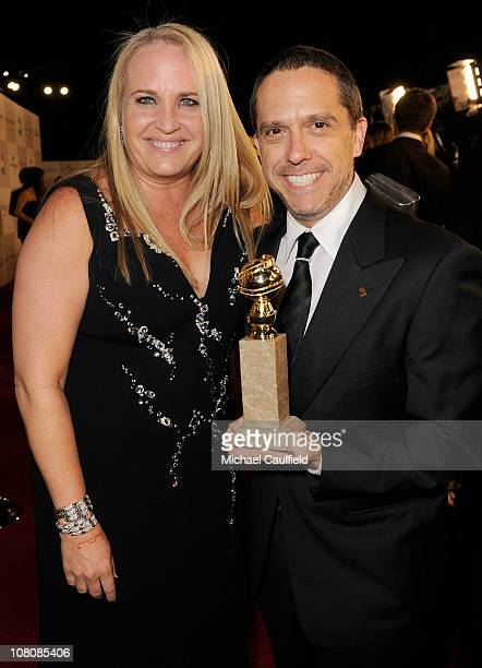 Producer Darla K Anderson and director Lee Unkrich winners of Best Animated Feature for Toy Story 3 arrive at NBCUniversal/Focus Features Golden...