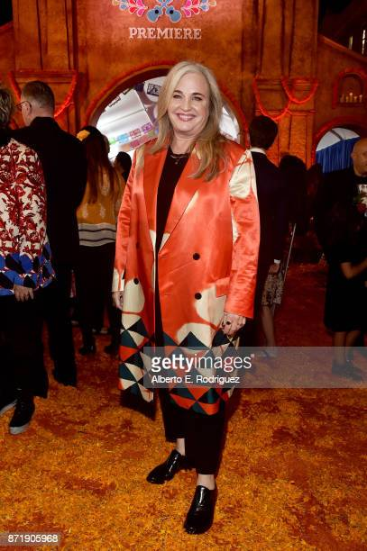 Producer Darla K Anderson at the US Premiere of DisneyPixar's Coco at the El Capitan Theatre on November 8 in Hollywood California