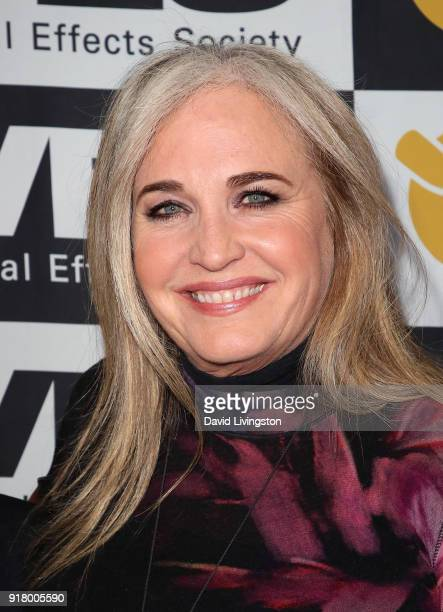 Producer Darla K Anderson attends the 16th Annual VES Awards at The Beverly Hilton Hotel on February 13 2018 in Beverly Hills California