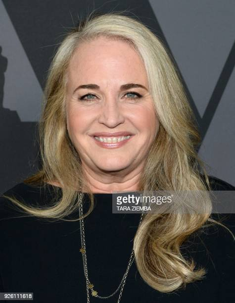 Producer Darla K Anderson attends the 90th Annual Academy Awards Oscar Week reception featuring the 2017 Oscar nominated films in the Animated...