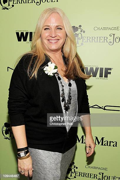 Producer Darla K Anderson attends the Fourth Annual Women In Film PreOscar Cocktail Party Presented by PerrierJouet at Soho House on February 25 2011...