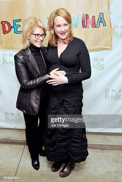 Producer Daryl Roth and Tony winning actress Katie Finneran attend the opening night of Dear Edwina at DR2 Theatre on December 17 2010 in New York...