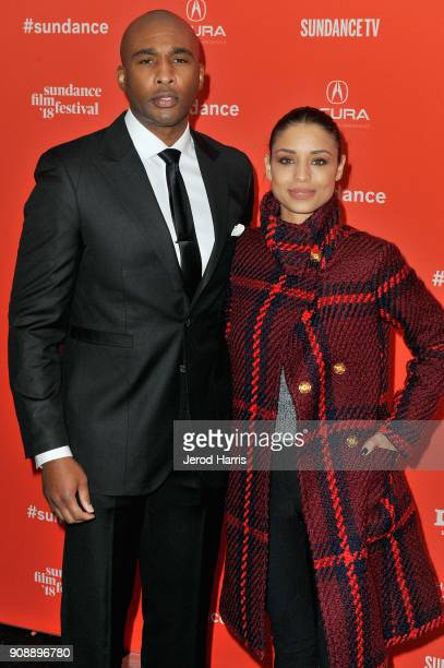 Producer Datari Turner and actor Brytni Sarpy attend the 'A Boy A Girl A Dream' Premiere during the 2018 Sundance Film Festival at Park City Library...