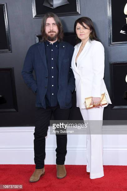 Producer Dave Cobb and Lela Cobb attends the 61st Annual GRAMMY Awards at Staples Center on February 10 2019 in Los Angeles California