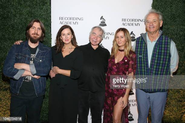 Producer Dave Cobb, Fiona Whelan, singer-songwriter John Prine, Margo Price and actor Bill Murray during The Recording Academy's Up Close And...