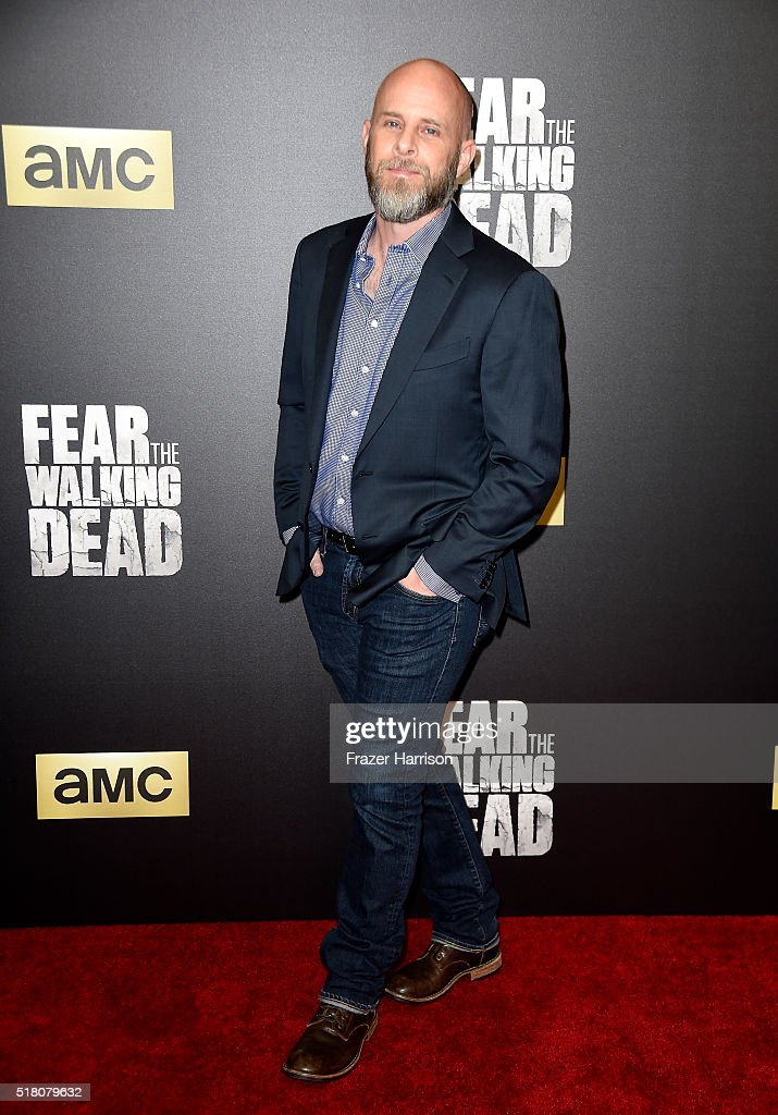 Producer Dave Erickson attends the premiere of AMC's 'Fear The Walking Dead' Season 2 at Cinemark Playa Vista on March 29, 2016 in Los Angeles, California.