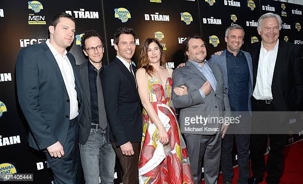 Producer David Bernad, writer/director Jarrad Paul, actors James Marsden, Kathryn Hahn, and Jack Black, writer/director Andrew Mogel, and IFC Films...