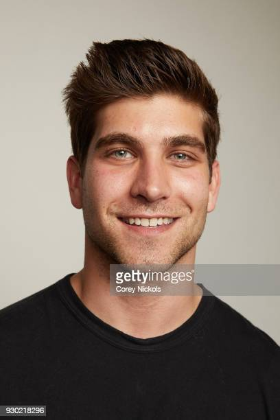 Producer David Bernon from the film Support The Girls poses for a portrait in the Getty Images Portrait Studio Powered by Pizza Hut at the 2018 SXSW...