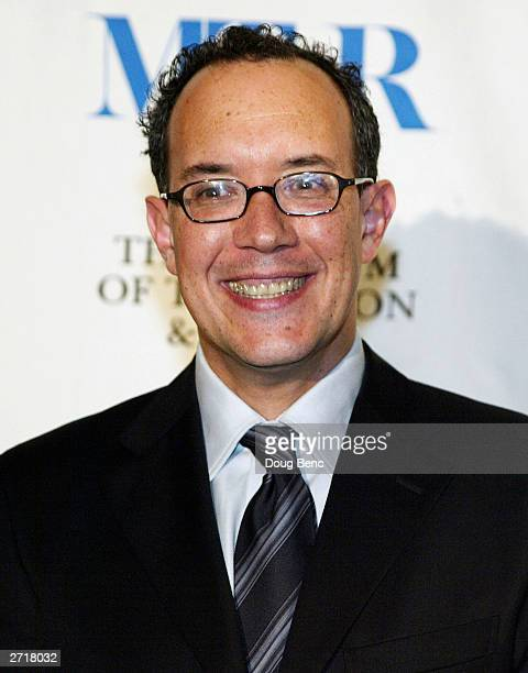 Producer David Crane poses before the Museum of Television Radio's Annual Los Angeles Gala on November 10 2003 at the Beverly Hills Hotel in Beverly...
