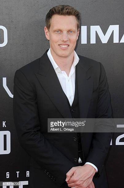Producer David Ellison arrives for the Premiere Of Paramount Pictures' Star Trek Beyond held at Embarcadero Marina Park South on July 20 2016 in San...