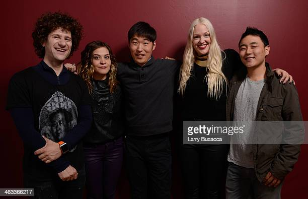 Producer David Foox, executive producer Christina Legere, actor Dong Hyun Kim, director Valerie Veatch and actor Brian Kim pose for a portrait during...