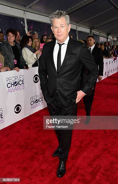 Producer David Foster attends the People's Choice Awards 2016 at Microsoft Theater on January 6 2016 in Los Angeles California